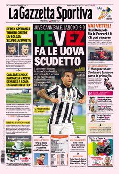 Juventus Tevez Scudetto