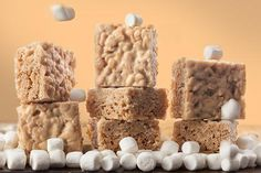 White Russian Rice Cereal Treats More