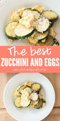 This zucchini and egg scramble is a delicious and healthy breakfast. If you're looking for zucchini recipes, you can put together this keto friendly zucchini and egg scramble in 10 minutes. It's an easy side dish for your favorite chicken and steak dinner too! #zucchini #zucchinirecipes #zucchinisnack #breakfast #healthyfood #healthyrecipe #healthybreakfast #eggs Steak Side Dishes, Side Dishes For Chicken, Rice Side Dishes, Summer Side Dishes, Healthy Side Dishes, Side Dishes Easy, Vegetable Side Dishes, Low Carb Vegetables, Veggies