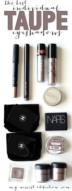 93734cd1ae8 The Best Individual Taupe Eyeshadows. Smokey Eye MakeupMac MakeupMakeup Kit Love ...