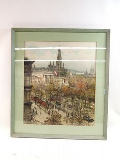 shopgoodwill.com: Print Of Austrian City Etching