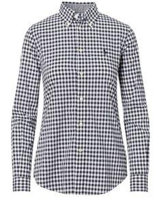 Polo Ralph Lauren Slim-Fit Poplin Shirt - Black/White 12