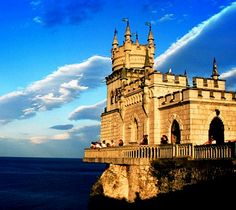 The Swallow's Nest Castle -   Crimea Ukraine