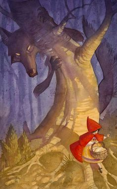 Little Red Riding Hood: Hidden Wolf