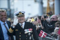 Le prince consort Henrik de Danemark à Vejle, le 2 septembre 2015