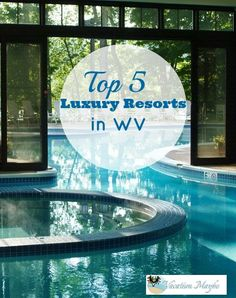 3 Amazing resorts in WV. Who knew? West Virginia can do luxury! Enjoy golf, spas, horseback riding, whitewater rafting, or skiing.