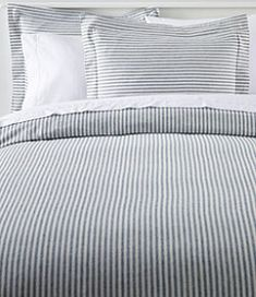 Find the best Ultrasoft Comfort Flannel Comforter Cover Collection, Stripe at L. Our high quality home goods are designed to help turn any space into an outdoor-inspired retreat. Comforter Cover, Duvet Covers, Striped Bedding, Ticking Stripe, Murphy Bed Plans, Murphy Beds, Decorating On A Budget, Decorating Bedrooms, My New Room