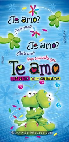 Marciano Clon deshojando flores y dando abrazo © ZEA www.tarjetaszea.com Amor Quotes, Qoutes, Love Quotes, Marriage Romance, I Love You, My Love, Love Images, Spanish Quotes, Love Cards