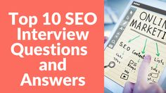 Top 10 #SEO Interview Questions and Answers