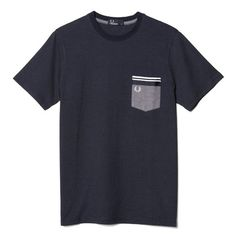 Fred Perry Dot Oxford Pocket T-Shirt