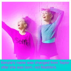 Edit of maddie and kenz Facts About Dance, Dance Moms Facts, Dance Moms Dancers, Dance Mums, Dance Moms Girls, Maddie And Mackenzie, Mackenzie Ziegler, Show Dance, Dance Class