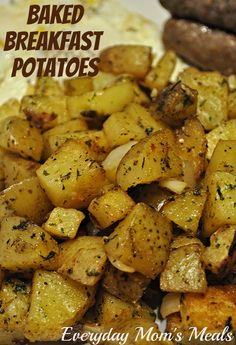 Everyday Mom's Meals: Have A Ton, One More Won't Hurt Baked Breakfast Potatoes