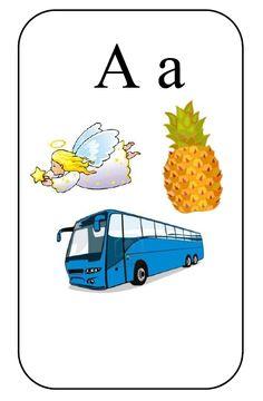 Česká obrázková abeceda - možnost dopsat psací tvar písmen. Activities For Kids, Crafts For Kids, Tvar, Snoopy, Education, Logos, Cards, Character, Life