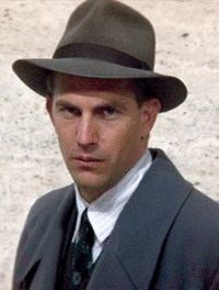 Kevin Cosner in The Untouchables.  Oh, yes, Mr. Ness, I'll confess.