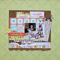 Family Traditions by Adrienne Looman {NOW AVAILABLE at Webster's Pages!!} Layout by Designer Diana Brodeur <3