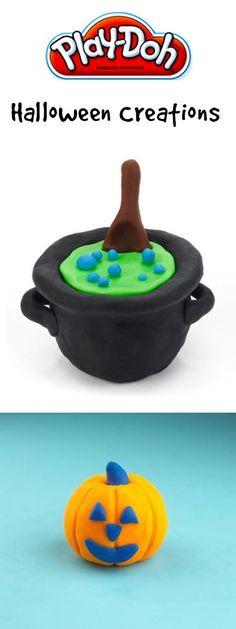 Play-Doh Halloween Creations #ad