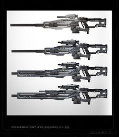 Chimeran Sniper Rifle