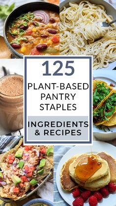 Healthy Eating Recipes, Real Food Recipes, Healthy Snacks, Healthy Eats, Vegan Vegetarian, Vegetarian Recipes, Food Staples, Food Shows, Homemade Pasta