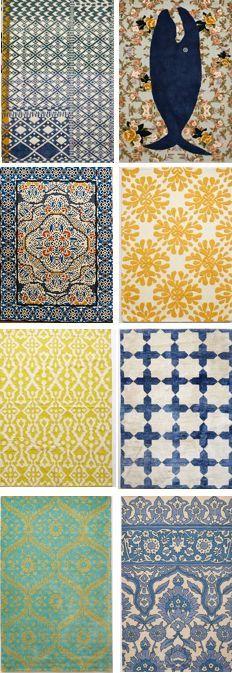 Favorite boho rugs - my top 24 at the link Rugs