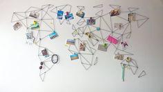 aleDRUCIAK: druciana mapa na ścianę - PLN Design