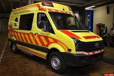 New ambulance in Budapest