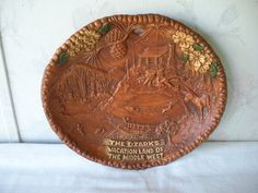 Not genuine Taco though Vintage Large THE OZARKS Vacation Land of the by countryroadgifts