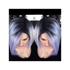 Blue/violet hair with a deep #shadowroot melt! Ready to go bold? Make your appointment today: (513) 783-4597 #kellyssalonisbomb #moddletownsalon #hairinspiration #bluehair #violethair