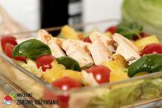 Więcej Niż Zdrowe Odżywianie Sałatka orientalna - Zdrowe Odżywianie Cobb Salad, Food, Diet, Essen, Meals, Yemek, Eten
