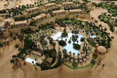 Qasr Al Sarab Desert Resort in Abu Dhabi Desert Resort, Abu Dhabi, City Photo, Deserts, Adventure, Mansions, Architecture, World, House Styles