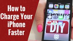 How to Charge an iPhone Faster