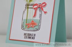"""Stampin' Up! Card """"My life is so empty without you"""" with Stamps """"Jar of Love"""" online on Lenky & Verzickt: Das Leben ist so leer ohne dich!"""