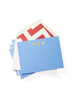 These luxurious, weighty emoji-engraved cards will ease your favorite technophobe into the 21st century.