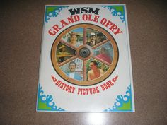 WSM Grand Ole Opry History Picture Book, 1969 & 1970 Information Booklet