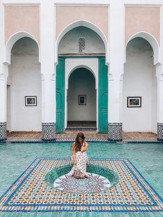 Marrakech - boho dress - arabic design - oriental design - arabic architecture - morocco