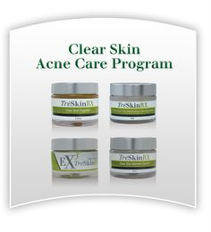 ON SALE - 2-week Trial Kit for ONLY $9.00.  Take the TreSkinRX Challenge and see what everyone's talking about. When you order - please put ACNE in the Referral Box.