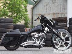 Blood Lines | 2009 Harley-Davidson Street Glide | Baggers #harleydavidsonstreetglidebaggers