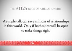 Just a simple talk
