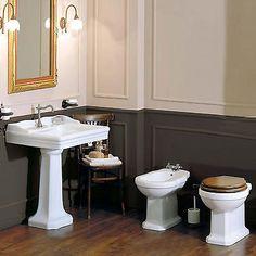Sanitari da bagno completi di lavabo colonna Azzurra Giunone stile tradizionale in Casa, arredamento e bricolage, Rubinetteria e sanitari, Sanitari bagno   eBay