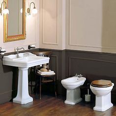 Sanitari da bagno completi di lavabo colonna Azzurra Giunone stile tradizionale in Casa, arredamento e bricolage, Rubinetteria e sanitari, Sanitari bagno | eBay