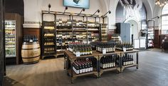 Continuing our longstanding relationship with the Danish retail group COOP, CADA were commissioned to design their new concept store, MAD Cooperativet Liquor Shop, Beer Shop, Coffee Shop Counter, Wine And Spirits Store, Whisky Shop, Wine Display, Bottle Display, Supermarket Design, Bottle Shop