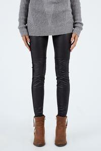 Crackled Leather Legging