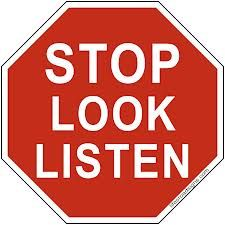Stop Look Listen - Living in the Moment
