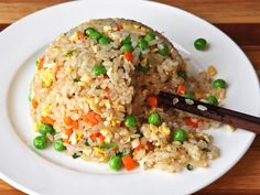 Really nice recipes. Every hour. • Easy Vegetable Fried Rice Really nice recipes....
