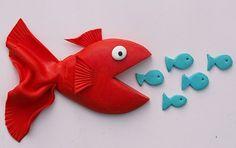 poissons fimo