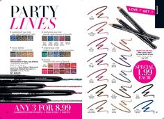GLIMMERSTICKS AND ULTRA LUXURY LINERS FOR LIPS, BROWS, AND EYES  ***Visit my website at youravon.com/vickiallen #glimmerstick #lipliners