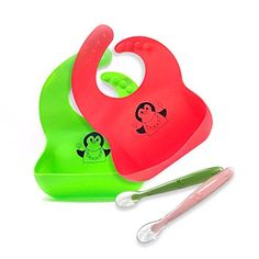 Waterproof Silicone Baby Bibs and Baby Silicone Spoons BP... https://www.amazon.com/dp/B06WRTV8QH/ref=cm_sw_r_pi_dp_x_SHi7yb4EXGSBJ