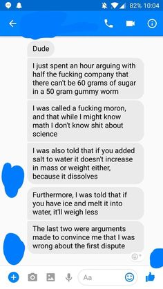 This was on r/facepalm apparently the Law of Conservation of Mass doesnt apply to manufacturers of foodinitially it was a joke post but now Im actually concerned about the conservation of science....