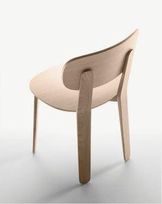 椅子 Triku系列 by ALKI   设计师Samuel Accoceberry