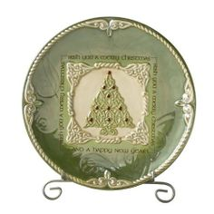 Our Irish Christmas Dessert Plate is a stunningly beautiful Christmas plate. Make the plum pudding a bit more festive this year with our Irish Christmas dessert plate. Our Irish Christmas Dessert Plate is equally a wonderful complement to any holiday deco Christmas In Ireland, Celtic Christmas, Christmas China, Christmas Dishes, Christmas Desserts, Winter Christmas, Merry Christmas, Christmas Decor, Christmas Ideas