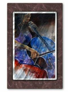 All My Walls POL00533 Dancing Notes Metal Wall Art by All My Walls. $365.00. Add a touch of class to your home decor with our extensive line of metal wall art pieces featuring Belgium artist Pol Ledents watercolor and oil paintings. These metal wall hangings consist of torch-cut 18-gauge steel layers stud construction and one-of-a-kind hand-sanding which creates a three dimensional visual effect that is comparable to a hologram. With over 50...